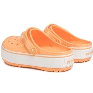 NWT Crocs Crocband Platform Clog Slip-On Shoes